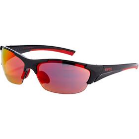 UVEX Blaze III Glasses black red/red